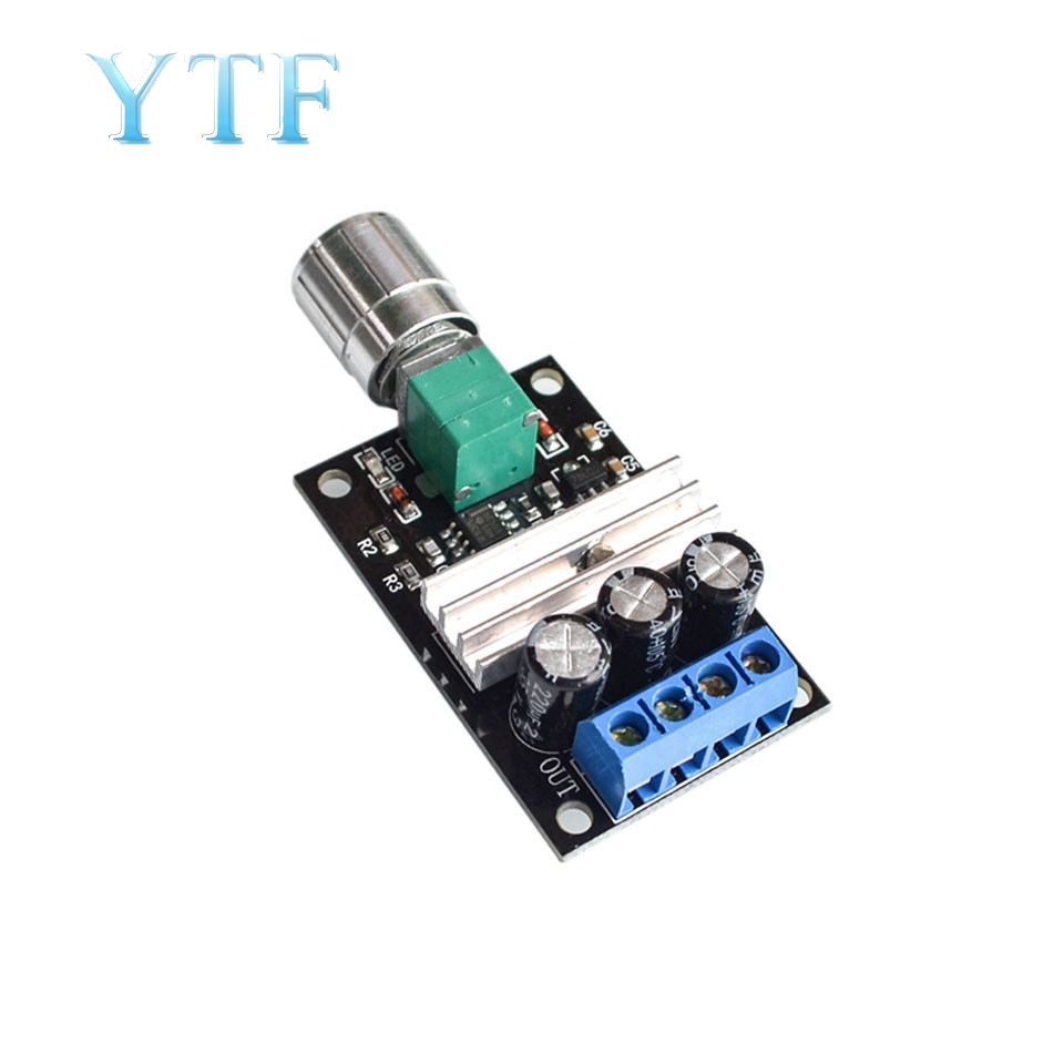 DC 6-28 V 12 V 24 V 3A PWM Control Switch Driver Of Engine Speed Regulator Variable Fan Adjustment For DC Motor Governor Tools
