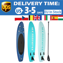 Inflatable Stand Up Paddle Board Deck Skill Levels Adult Single-layer Surf Board PVC Material, Lightweight and High-intensity