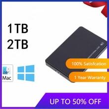 2.5 Mobile 1 to 2 to disque dur USB3.0 SATA3.0 HDD disco duro externo disques durs externes pour ordinateur portable/Mac/Xb
