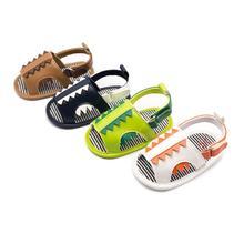 Baby Sandals Cartoon Dinosaur Boy Sandals Korea Kids Summer Baby