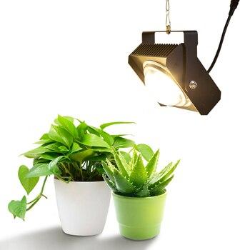 Hydroponics COB LED Grow Light 100W Full Spectrum LED Plant Grow Lamp for Indoor Greenhouse Plants Veg & Flowering Stage цена 2017