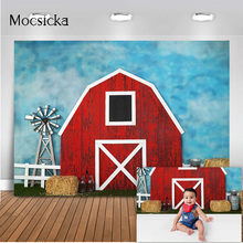 Farm Warehouse Backdrop for Photography Newborn Kids Portrait Photo Booth Background Studio Barn Baby Photoshoot Props photocall