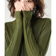 E Sweater women 2020 autumn and winter new high-necked sweater
