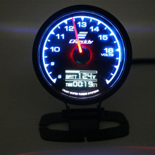 62mm 7 Color in 1 Racing Gauge GReddi Multi D/A LCD Digital Display Turbo Boost Car 2.5 Inch