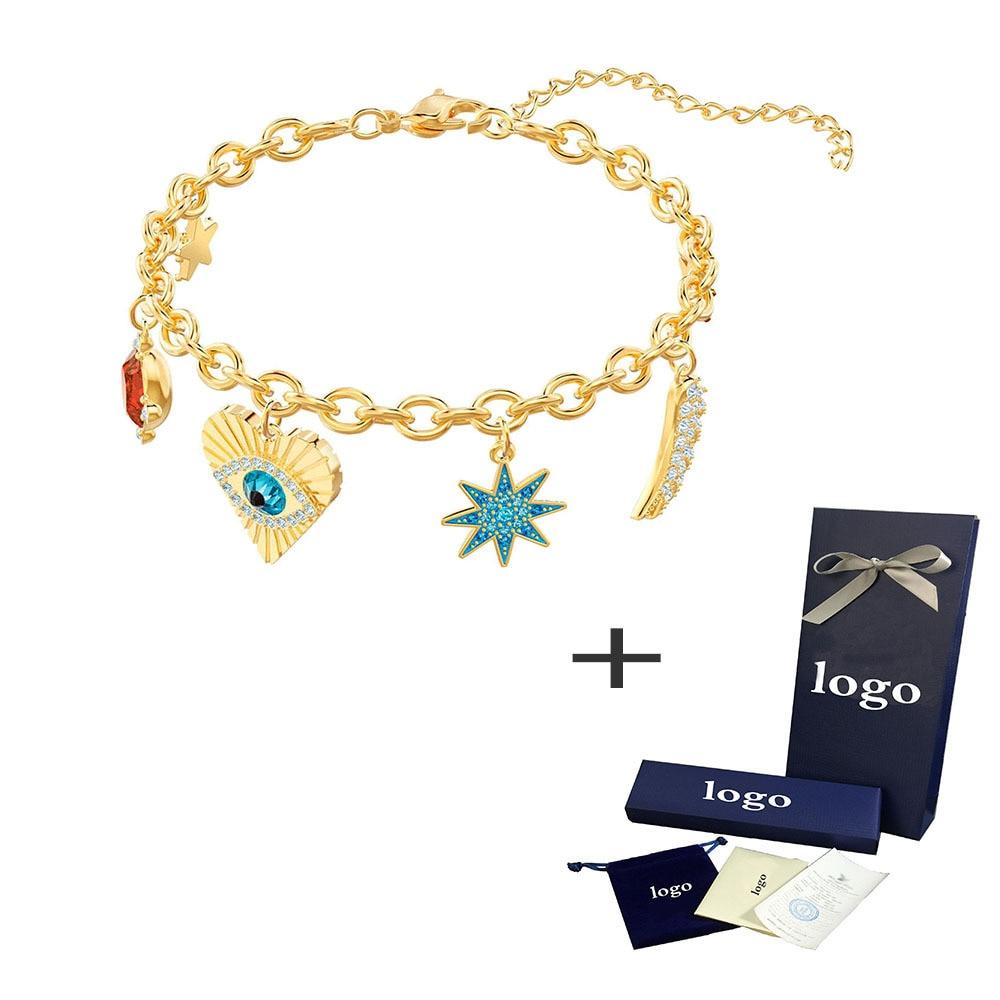 Bracelet Female Luxury Jewel-Seducer Pendant-New 19 5461796 Devil Eyes Happy Kristie