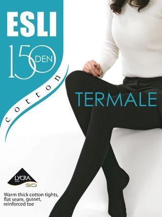 Колготки женские ESLI TERMALE 150 теплые хлопковые|Колготки| | АлиЭкспресс