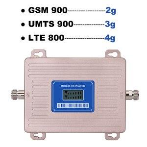 Image 3 - 360 Độ Anten Khuếch Đại 4G LTE 800 2G GSM 900 Mhz Khuếch Đại Tín Hiệu B20 B8 Màn Hình Hiển Thị LCD 65 DB Gain 2G 3G 4G 800 900 Mhz Tăng Áp