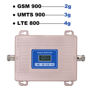 Image 3 - Europe Cellular Amplifier GSM Repeater 2g 3g 4g LTE 800 GSM 900 MHz Dual Band 4G Signal Booster B8 B20 LCD Display Omni Antenna