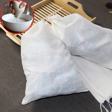 3 Sizes Pure Cotton Fine Mesh Nut Milk Strainer Reusable Yogurt Coffee Tea Juice Muslin Cheese cloth Bag Kitchen Accessories