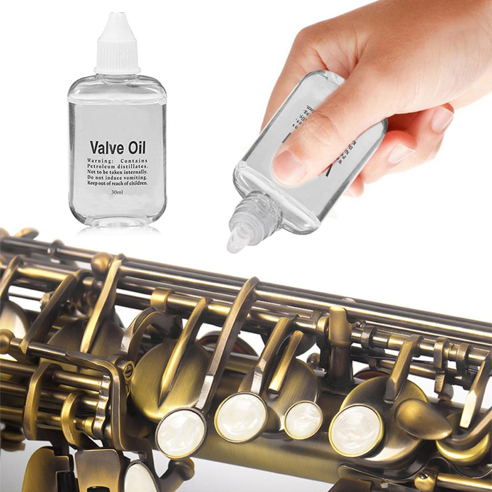 30ML 35ML Valve Oil Brass Music Instrument Lubricating Oil On For Saxophone Clarinet Flute Trumpet Trombone Horn Lubrication Oil
