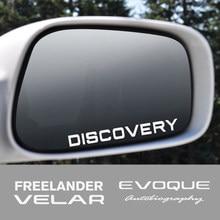 4 Stuks Voor Land Rover Discovery 3 4 Freelander Evoque Velar Supercharged Autogiography Svr Auto Achteruitkijkspiegel Sticker Accessoires