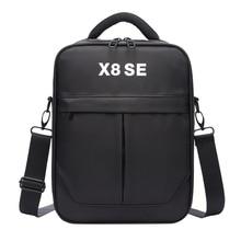 ABKT Hard cilt depolama el çantası Xiaomi Fimi X8 Se Rc Quadcopter taşıma taşınabilir omuz çantası koruyun aksesuarları