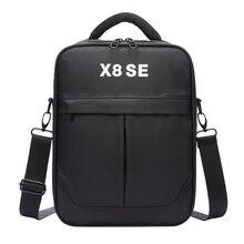 ABKT sac à main de stockage de peau dure pour Xiaomi Fimi X8 Se Rc quadricoptère transportant des accessoires de protection de sac à bandoulière Portable