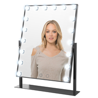 18 LED Bulb Hollywood Makeup Mirror Light Desktop Dresser Adjustable Light Dedicated HD Wedding Princess Vanity Mirror decor