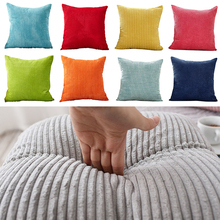 Cushion Cover Velvet Corduroy Sofa Decorative Pillows For Living Room Pillow Case 45X45cm Kussenhoes Soft Home Decor Nordic soft decorative pillows pillow case square home decor velvet cushion cover for living room bedroom sofa living room decoration