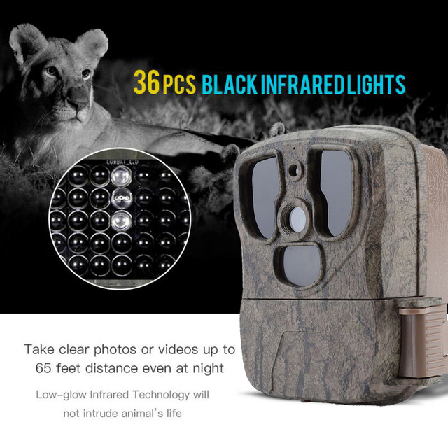 Trail Hunting Camera S300 20MP Infrared Wireless Cameras Photo Traps 1080P Wildlife Cams Surveillance 5