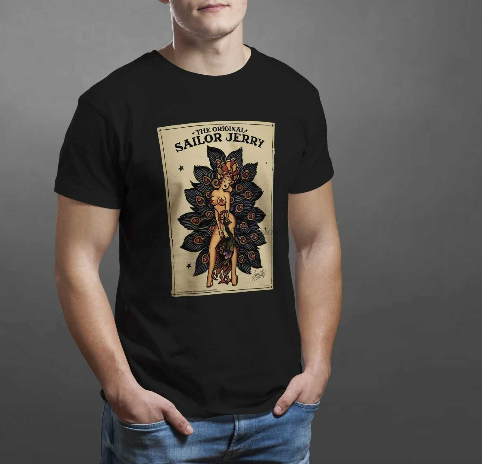 Sailor Jerry Spiced Rum Tato Terinspirasi Lady Tshirt T Shirt Semua Ukuran 131