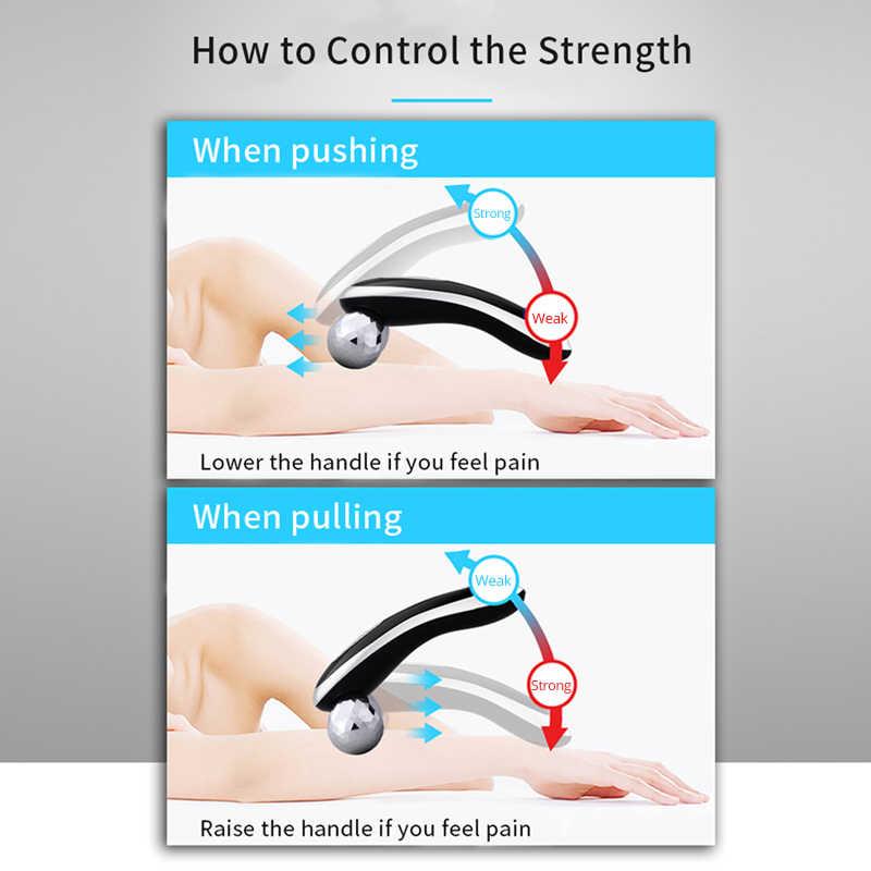 ไฟฟ้านวด Roller ใบหน้ายกกระชับผิวกระชับ Roller Body Slimming Massager 3 ระดับสูงการสั่นสะเทือนความถี่ชาร์จ