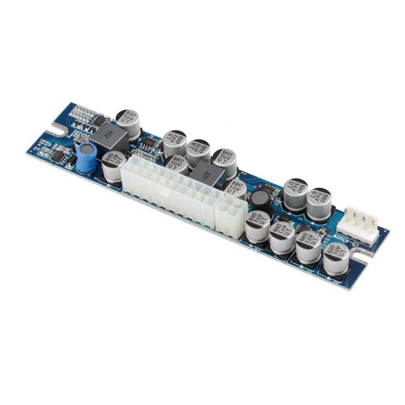 DC 12 В DC-ATX 300 Вт 24Pin Psu модуль питания настольный мини ITX шасси NAS Промышленный источник питания Mute