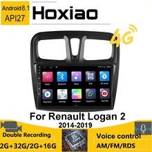 자동차 라디오 2 DIN 안드로이드 플레이어 네비게이션 GPS Renault Logan 2 2012   2019 Sandero 2 2014 2015 2016 2017 2018 2019 Autoradio