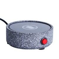 220V Aquecedores Elétricos De Cerâmica Quente mais quente Xícara de Café Bule de Chá Fogão Termostática Tesouro Trivets Base Acessórios Teaware|Jogo para chá| |  -