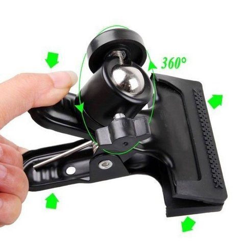 For Gopro camera ball heads strong clip flash clip bracket desktop bracket background board clip universalraphy Lahore