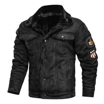 New fashion men's leather jacket