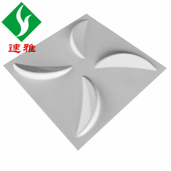 3D Wall Plate Pvc3d Board Brand New Environmentally Friendly and Flame Retardant Anti-Aging PVC Material 0.8mm Thickness
