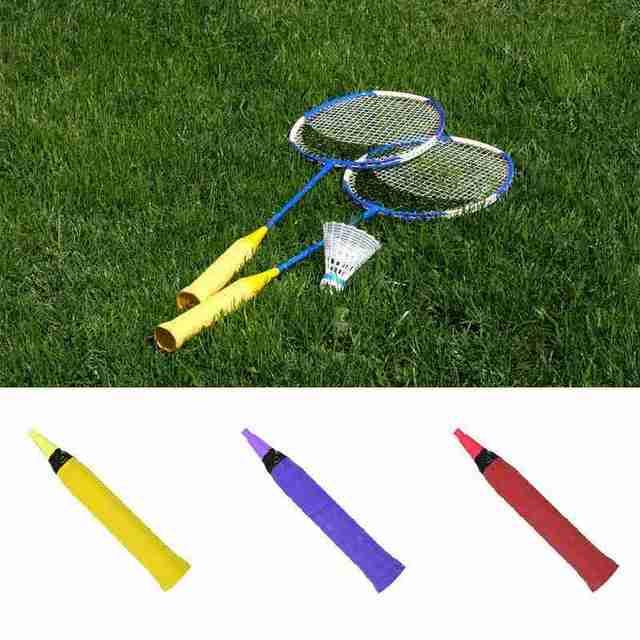1 Pcs Badminton Racket Sweat-absorbent Belt Tennis Racket Non-slip Matte Hand Gel PU Grip Sweat-absorbent Belt