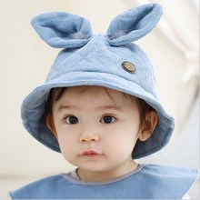 Cute Baby Girl Boy Aumtumn Winter Outdoor Hat Lovely Big Ear Cotton Warm for Kid Unisex Cold Weather Children Hats