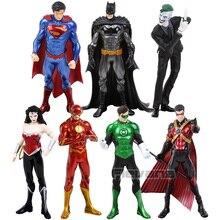 ARTFX + STATUE New 52 DC 수퍼맨 배트맨 조커 그린 랜턴 플래시 원더 우먼 로빈 1/10 ScaleFigure Collectible Toy