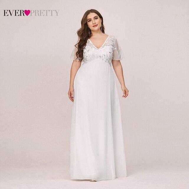 בתוספת גודל נצנצים ערב שמלות ארוך פעם די אונליין V צוואר קצר שרוול אלגנטי המפלגה שמלות העבאיה Gece 2020