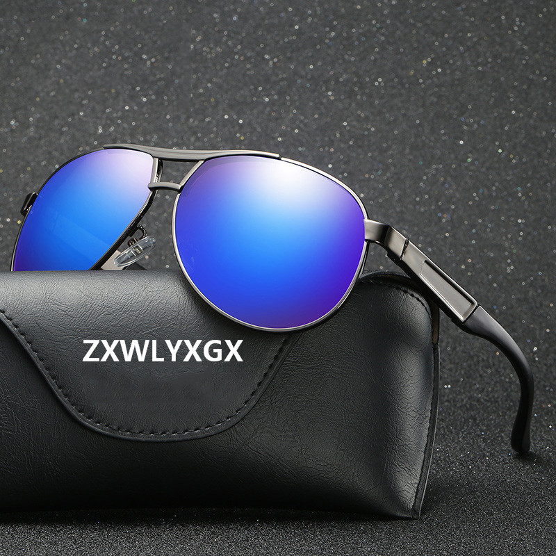 ZXWLYXGX Brand Classic Men Polarized Sunglasses Men/Women Driving Pilot Sunglass Man Eyewear High Quality Sun Glasses UV400