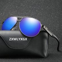 ZXWLYXGX Brand Classic Men Polarized Sunglasses Men/Women Dr