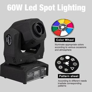 Image 3 - Projecteur de lumière de scène 2 pièces LED Spot 90W avec prisme à 6 faces 60W, effet DMX512 pour effet Disco DJ