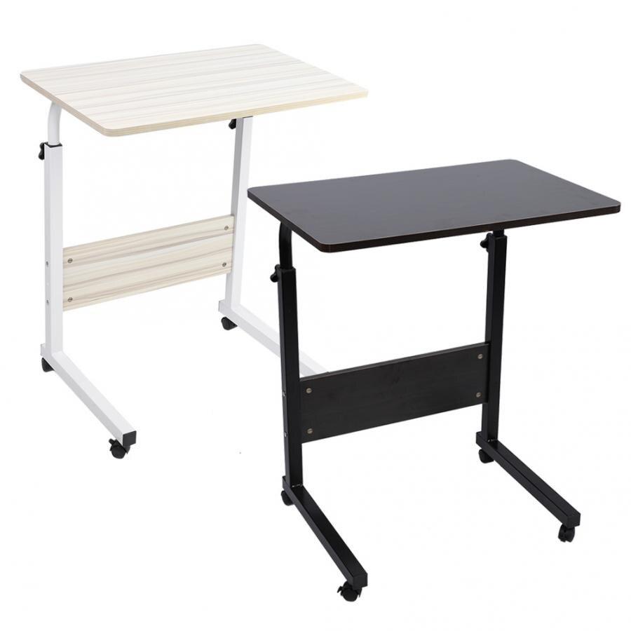 Portable Adjustable Height Laptop Computer Stand Desk Bed Side Reading Table Laptop Desk