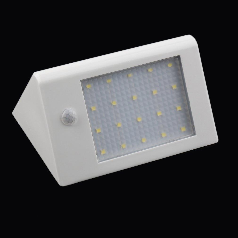 Long Lighting Hours Intelligent Energy-saving 20 LED 3.5W 440 LM Solar Power Light Lamp Garden Lamp Infrared Induction Bright