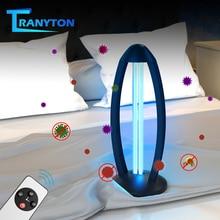 30/38W Timing Ultraviolet Light 110V/220V Quartz lamp UVC Sterilizer Home Kill Mite Disinfection Air Clean with Remote
