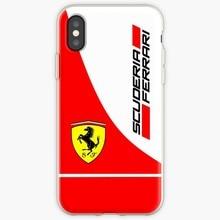 Scuderia Ferrari Transparent Case For iPhone
