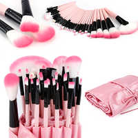 32pcs Soft Makeup Brush Eyeliner Brush Detail Brush Glitter Brush Concealer Blush Lip Blush Nose Blush Face Beauty Makeup Tool