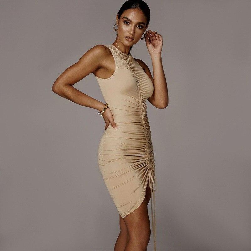 sleeveless mini short dress20