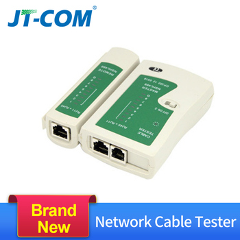 цена на RJ45 RJ11 RJ12 Network Cable Tester CAT5 UTP LAN Cable Tester  Networking Wire Telephone Line Detector Remote Test Tracker Tool