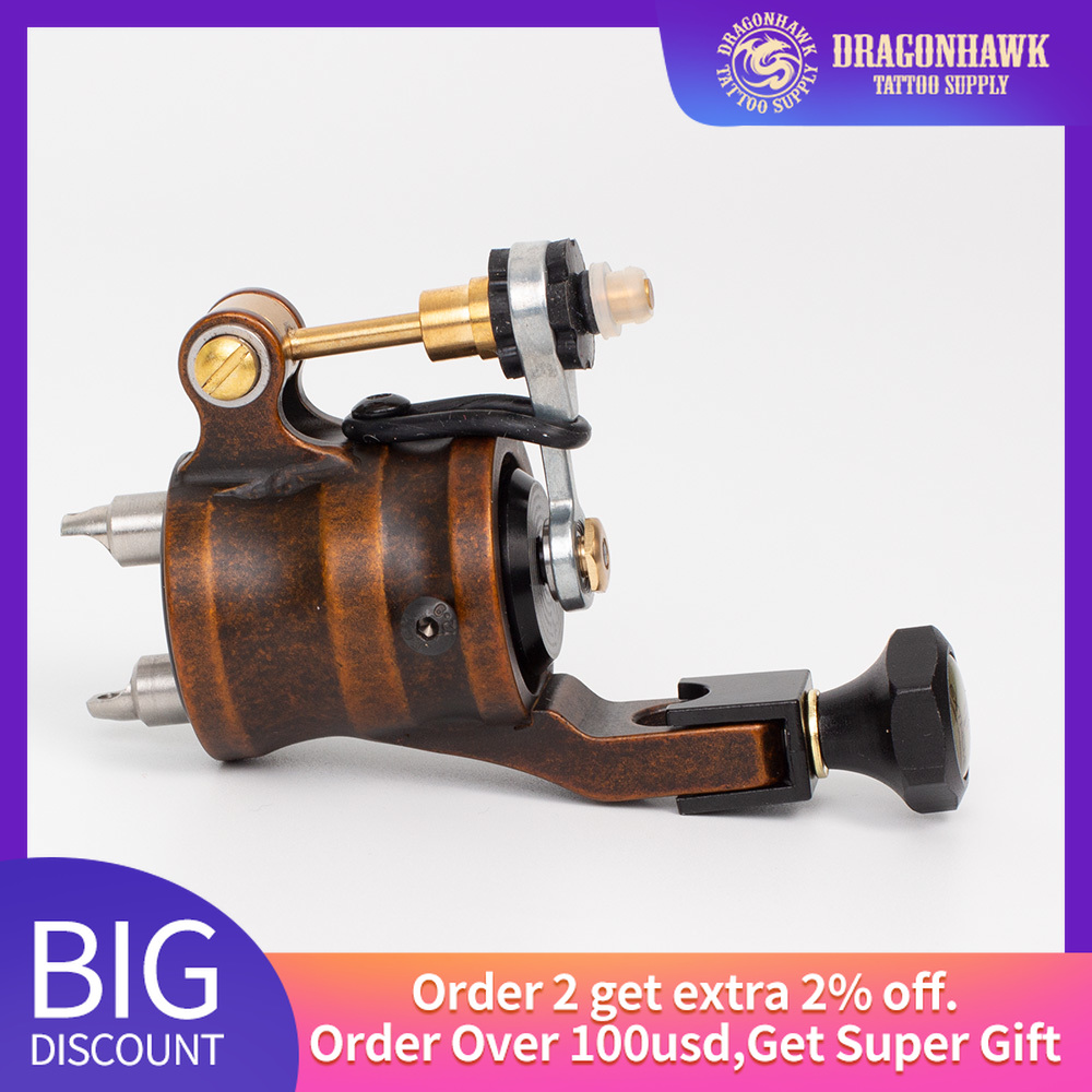 Rotary Tattoo Machine Dragonhawk Extreme Tattoo Guns Professional Strong Motor Tattoo Supply