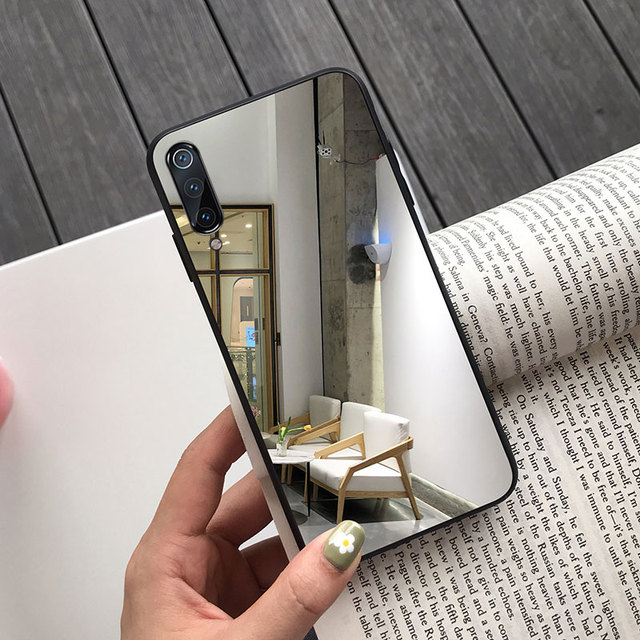 Mirror Phone Case for Samsung A70 A50 A40 A30 A20 M30S Soft Cover Galaxy J4 J6