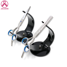 5.5 inch Hair Scissors Stainless Steel Cutting Thinning Styling Tool Salon Hairdressing Shears Regular Flat Teeth Blades