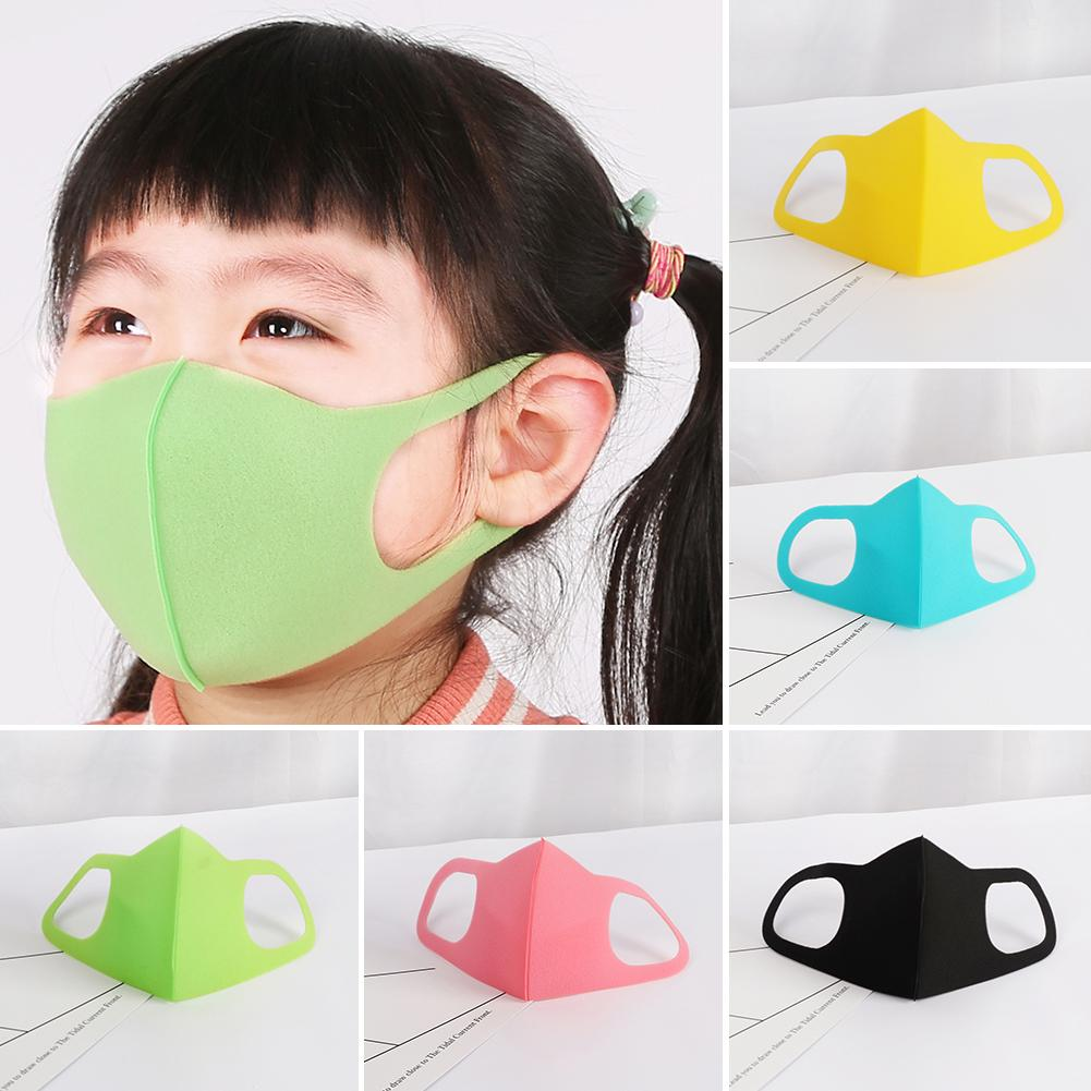 3Pcs/Set Kids PM2.5 Cotton Breathable Anti Droplet Dust-proof Face Mouth Mask Anti Dust Allergy Masca In Stock Fast Shipments