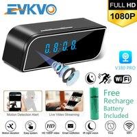 EVKVO-Reloj con cámara infrarroja IR oculta, videocámara digital 1080p HD, mini DV DVR con visión nocturna y alarma, control por WiFi, PK Z10