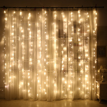 2x2/3x1/3x2/3x3m Curtain Led String Lights Christmas New Year Decor Decorations for Home Ornaments Navidad.