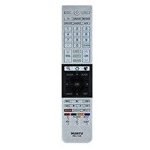 LEORY Ersatz TV Fernbedienung für Toshiba LCD SMART 3D TV CT 90296 CT 90429 RM L1328