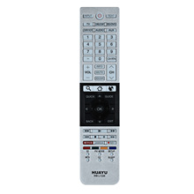 LEORY Replacement TV Remote Control for Toshiba LCD SMART 3D TV CT 90296 CT 90429 RM L1328